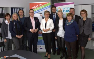 Tino Sorge besucht Integrationsprojekt in Magdeburg