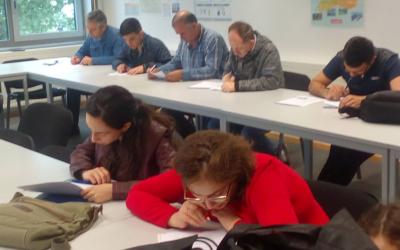 """Abschlussprüfung für Schüler des Integrationskurses """"Leben in Deutschland"""""""
