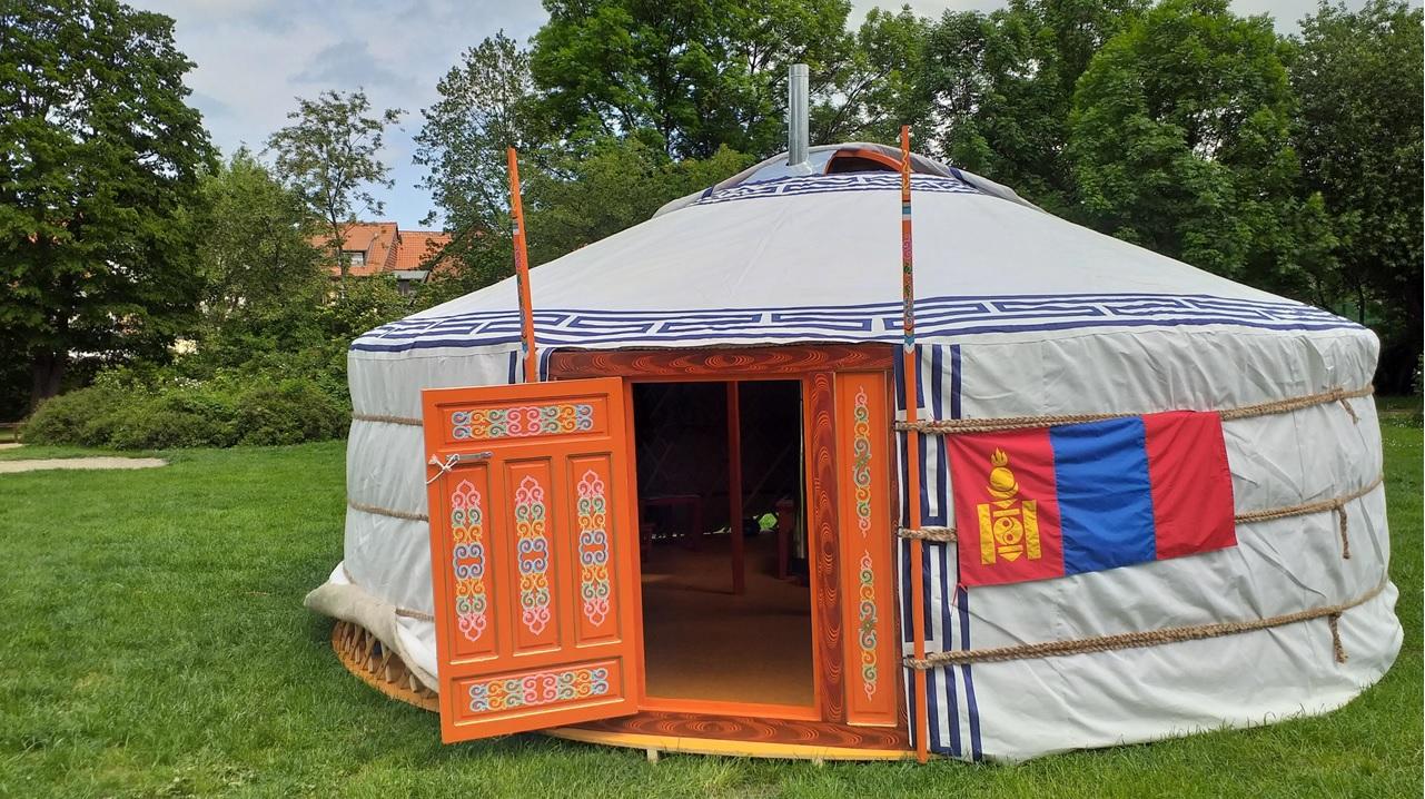 [:de]Gründercamp in Burg[:] @ In einer Jurte | Burg (bei Magdeburg) | Sachsen-Anhalt | Deutschland